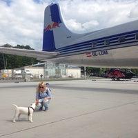 Photo taken at Hangar 8 by Alesia C. on 8/21/2015