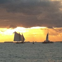 Photo taken at Mallory Square by Chad F. on 10/21/2011