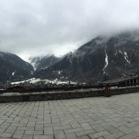 Photo taken at Courmayeur by Hannan on 4/1/2016