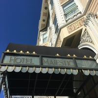 Photo taken at Hotel Majestic by Brian W. on 10/8/2016