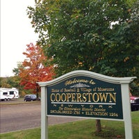Photo taken at Village of Cooperstown by Anthony Q. on 9/29/2012