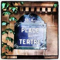 Photo taken at Place du Tertre by Cirdec31 on 10/7/2012