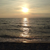 Photo taken at Lido Beach Spiaggia Libera Lido Di Camaiore by Keane X. on 10/5/2014