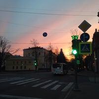 Photo taken at Площадь Жертв Революции by Margot V. on 4/13/2016