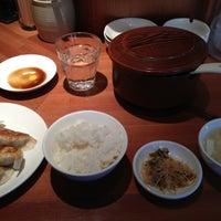 Photo taken at 上海厨房 福島 Futou by Kawata T. on 10/5/2012