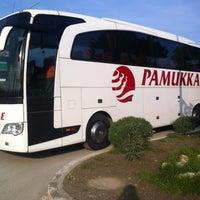 Photo taken at Pamukkale Turizm by Oğuz Ö. on 2/18/2013