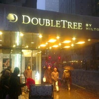 Photo taken at DoubleTree by Hilton Hotel Metropolitan - New York City by Tlg Z. on 2/8/2013