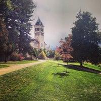 Photo taken at Utah State University by Veronika M. on 10/4/2013
