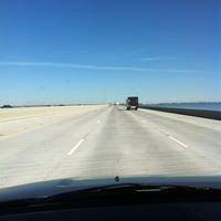 Photo taken at I-10 Twin Span Bridge by Chantelle T. on 12/22/2012