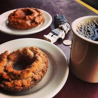 Photo taken at Top Pot Doughnuts by Will C. on 3/4/2013