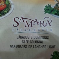 Photo taken at Samara Pães e Doces by Alfredo R. on 5/1/2013