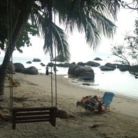 Photo taken at Sabai beach resort by Ekaterina D. on 1/20/2013