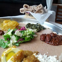 Photo taken at Demera Ethiopian Restaurant by NuttyKnot .. on 6/17/2013