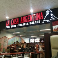 Photo taken at La Casa Argentina Fast Grill by Sasha B. on 1/7/2013