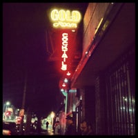 Photo taken at Gold Room by Jeff E. on 11/3/2012