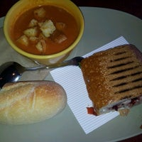 Photo taken at Panera Bread by Jacqueline C. on 10/6/2012