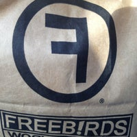 Photo taken at Freebirds World Burrito by Topher A. on 5/28/2013