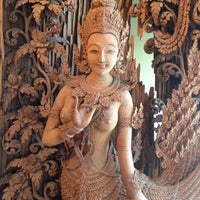 Photo taken at Siamese Thai Restaurant by Andrea C. on 5/14/2014