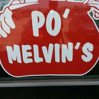 Photo taken at Po' Melvin's by Brannon M. on 6/20/2013