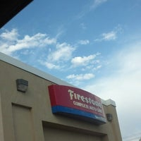 Photo taken at Firestone Complete Auto Care by Jason L. on 4/9/2013