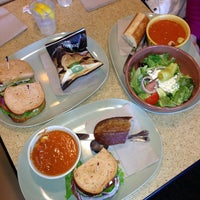 Photo taken at Panera Bread by Altan A. on 1/1/2013