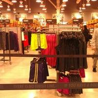 Photo taken at Nike Factory Store by Sharlani-Gilbert-Skye R. on 12/27/2012