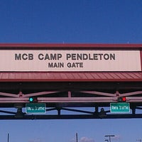 Photo taken at MCB Camp Pendleton - Main Gate by Sharlani-Gilbert-Skye R. on 11/10/2012