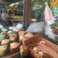 Photo taken at Kahuku Land Farms Fruit Stand by Caroline V. on 10/27/2015