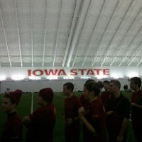 Photo taken at Steve & Debbie Bergstrom Indoor Training Facility by Clint C. on 11/3/2012