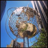 Photo taken at Columbus Circle by sv H. on 5/5/2013