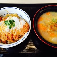 Photo taken at かつや 神奈川座間店 by ELNINO エ. on 4/25/2015