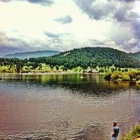 Photo taken at Evergreen Lakehouse by Yacine B. on 8/10/2014