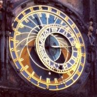 Photo taken at Prague Astronomical Clock by Fabrizio P. on 7/1/2013