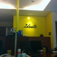 Photo taken at Ideate Creative Communication by Pakum d. on 11/16/2012