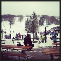 Photo taken at Mount Snow Main Base Lodge by Angie G. on 2/24/2013