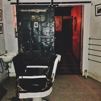 Photo taken at The Blind Barber by Manny H. on 5/24/2013