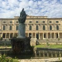 Photo taken at Municipal Art Gallery Of Corfu by RM on 8/26/2016