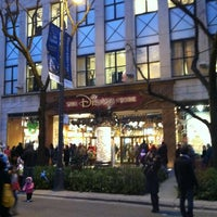 Photo taken at Disney Store by Adrián V. on 11/17/2012