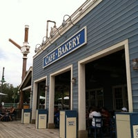 Photo taken at Pacific Wharf Café by Starla H. on 7/31/2011