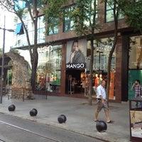 Photo taken at Mango by Umut on 9/4/2012