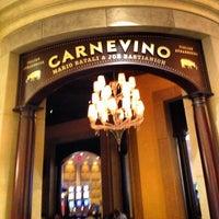 Photo taken at Carnevino by Chris V. on 5/7/2013