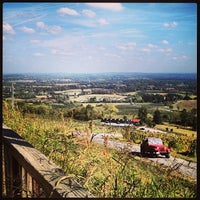 Photo taken at Bluemont Vineyard by Morgan H. on 10/6/2013