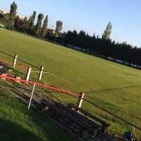 Photo taken at ASVÖ-Wien Sportanlage Speising by Graham B. on 9/28/2014