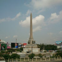 Photo taken at Victory Monument by Puy A. on 1/26/2013