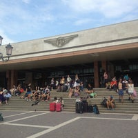 Photo taken at Venezia Santa Lucia Railway Station (XVQ) by Gianluca G. on 7/21/2013