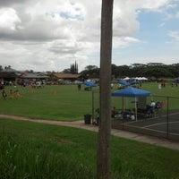 Photo taken at 16 Acres (Makaunulau Park) by Leonard K. on 9/30/2012