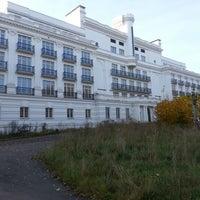 "Photo taken at Sanatorija ""ĶEMERI"" by Arvis K. on 10/19/2012"