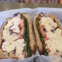 Photo taken at Bruegger's Bagels by Wade W. on 1/15/2014