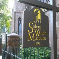 Photo taken at Salem Witch Museum by Laura B. on 7/13/2013