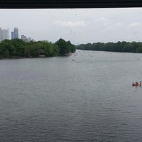 Photo taken at Lady Bird Lake Trail by Justin R. on 4/27/2013